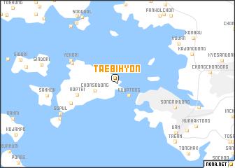 map of Taebihyŏn