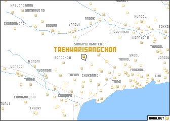 map of Taehwari-sangch\