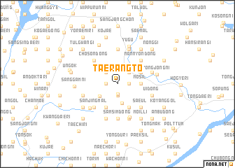 map of Taerangt\