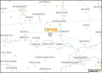 map of Tafino