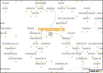 map of Tafournouth