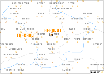 map of Tafraout