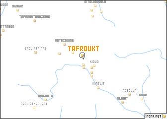 map of Tafroukt