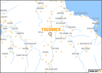 map of Tagabaca