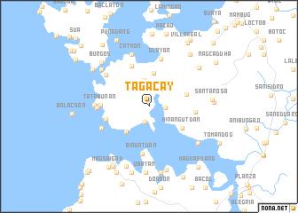 map of Tagacay