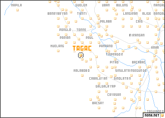 map of Tagac
