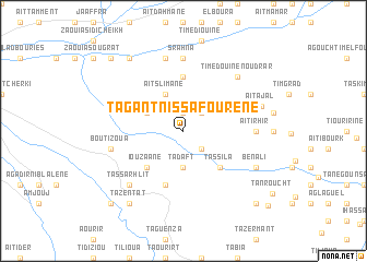 map of Tagant n' Issafourene