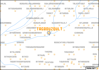 map of Tagaouzoult
