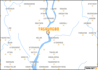 map of Tagaungbo