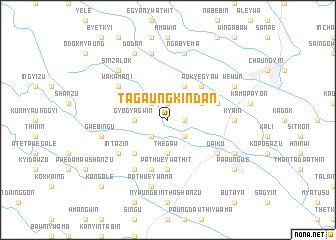 map of Tagaung Kindan