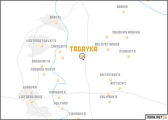 map of Tagayka