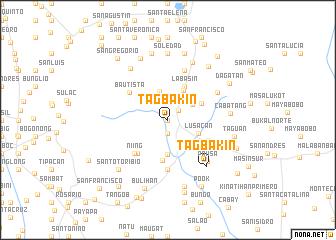 map of Tagbakin
