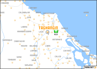 map of Taghangin