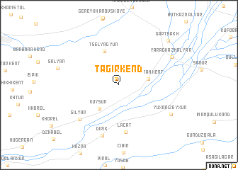 map of Tagirkend