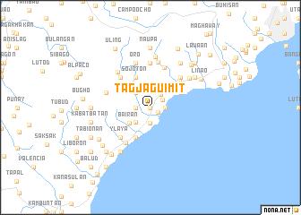 map of Tagjaguimit