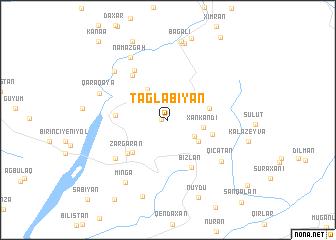 map of Tağlabiyan
