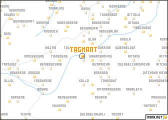 map of Tagmant