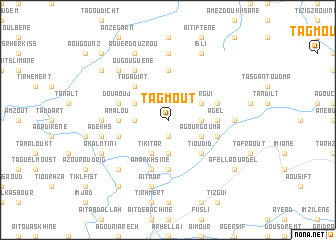 map of Tagmout