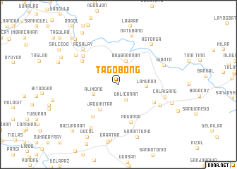 map of Tagobong