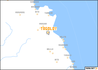 map of Tagoloy