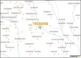 map of Tagounsa