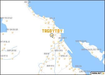 map of Tagoytoy