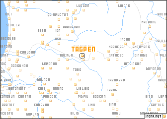 map of Tagpen