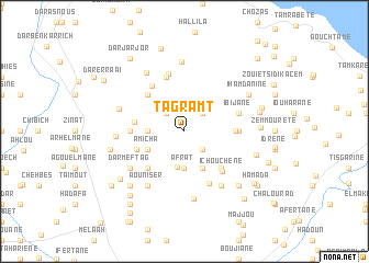 map of Tagramt