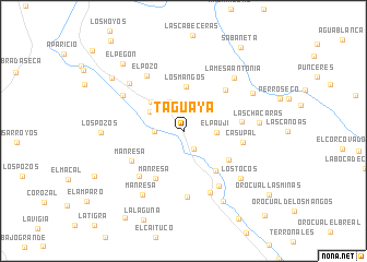 map of Taguaya