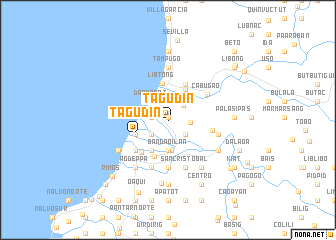 map of Tagudin