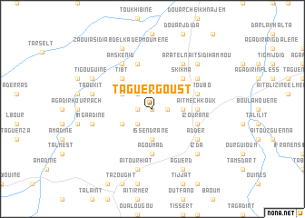 map of Taguergoust