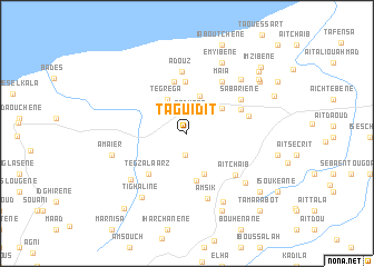 map of Taguidit