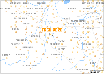 map of Taguiporo