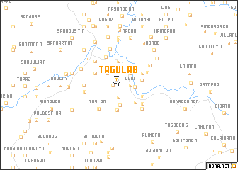 map of Tagulab