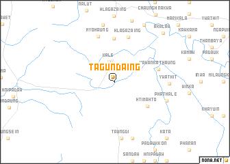 map of Tagundaing