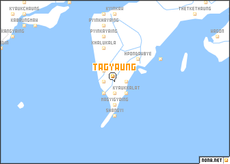 map of Tagyaung
