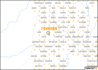 map of Tahamba