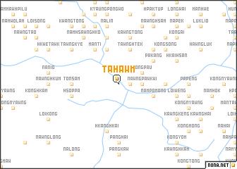 map of Tahawm