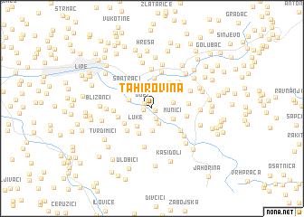 map of Tahirovina