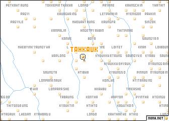 map of Ta-hkauk