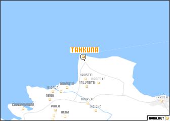 map of Tahkuna