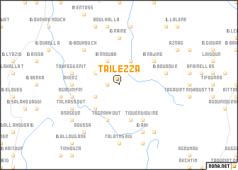 map of Tailezza