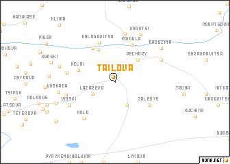 map of Tailova