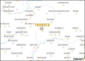 map of Taïneste