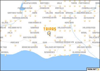 map of Taipas