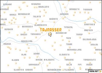 map of Taj Nasser