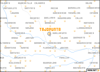 map of Tajopunta