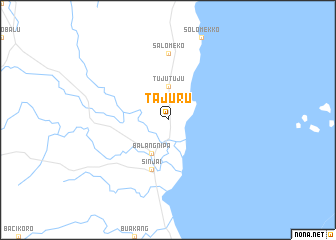 map of Tajuru