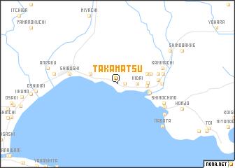 Takamatsu Japan map nonanet