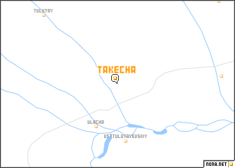 map of Takecha